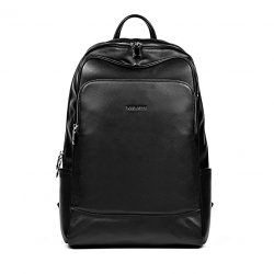 BOSTANTEN Leather Backpack School Laptop