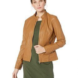 Fasbric Women's Faux Leather Jackets