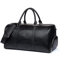 BOSTANTEN Leather Duffel Bag