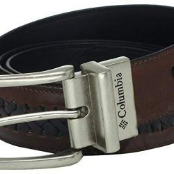 Columbia Reversible Leather Laced Belt