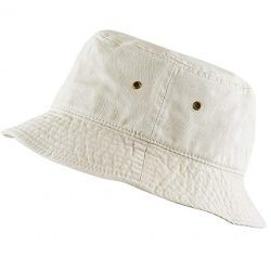 Cotton Packable Summer Travel Bucket Beach Sun Hat